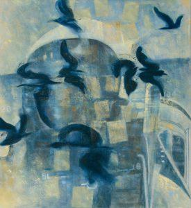 Acryl auf Lw, 110 x 100 cm, 2007