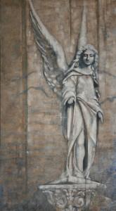 Öl auf Holz, 140 x 70 cm, 2008